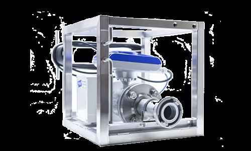 Durflussmesssystem Pumpversuche Datenlogger